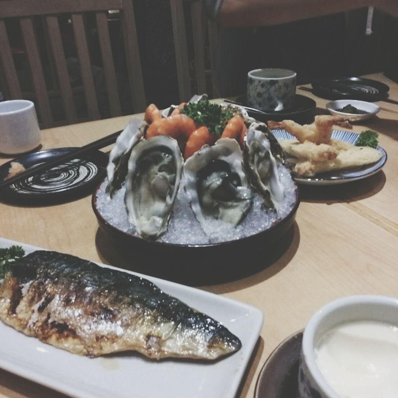 Dinner Sushi Salmon Sashimi