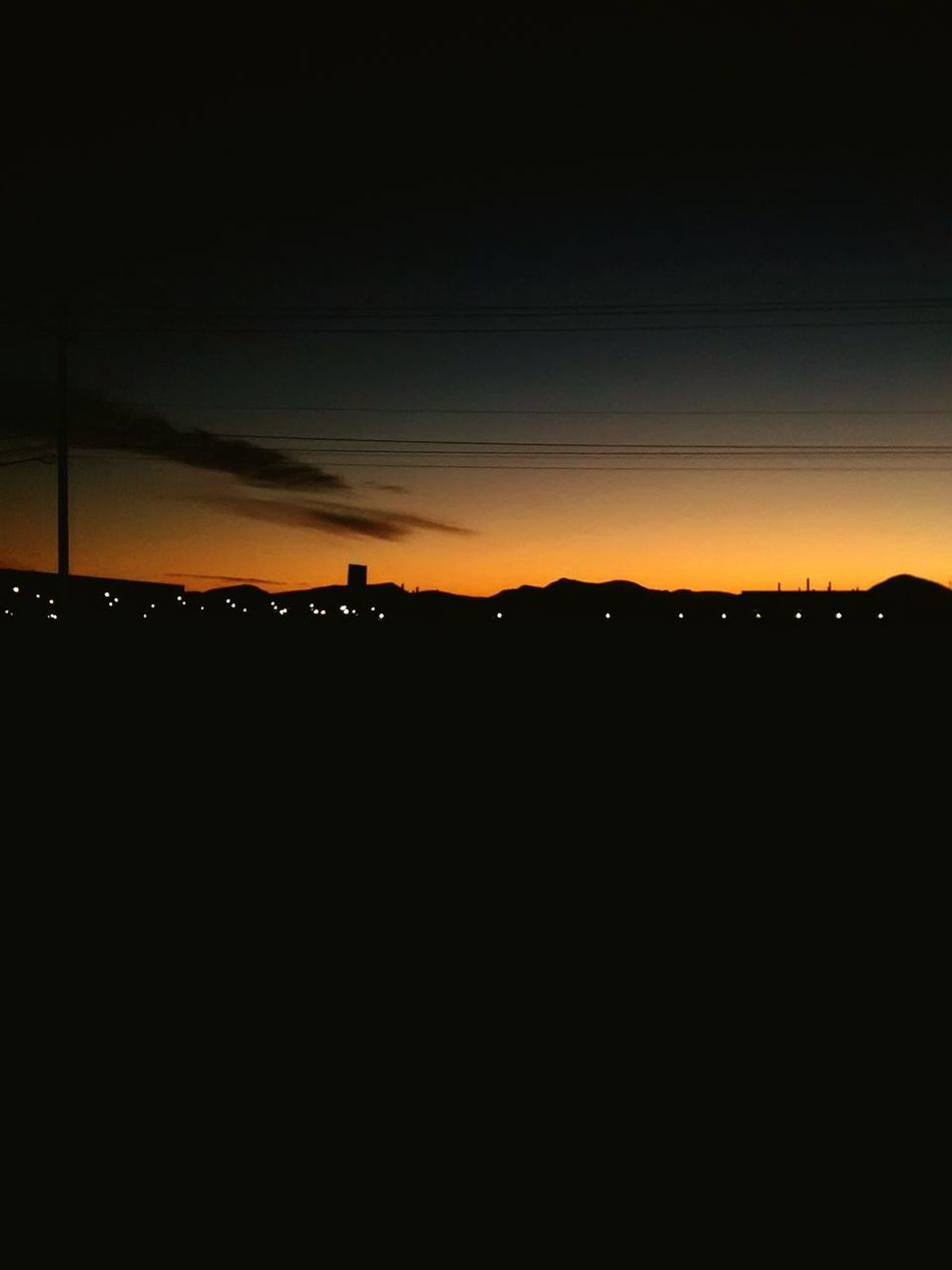 Learn & Shoot: After Dark Desert Sundown Alive  After Mexico Chihuahua Sky Blue Peace Desertico Atardecer Anochecer Paz