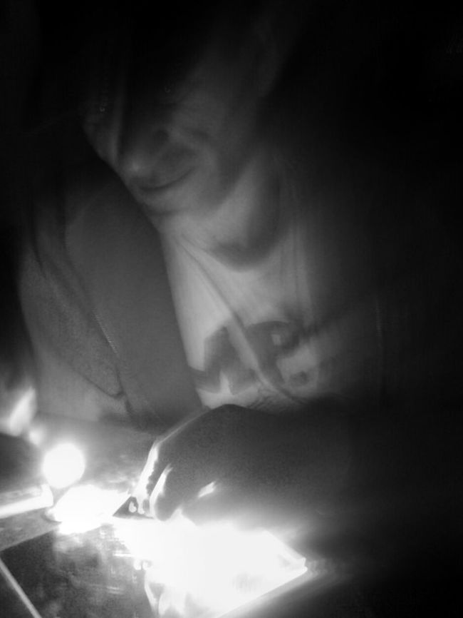 Bnw_friday_eyeemchallenge Dark Silhouette Portrait Of A Friend What Is He Building? https://youtu.be/WAP_JBRBECk Revolting Art Productions Poetry In Motion Exceptional Photographs Telling Stories Differently