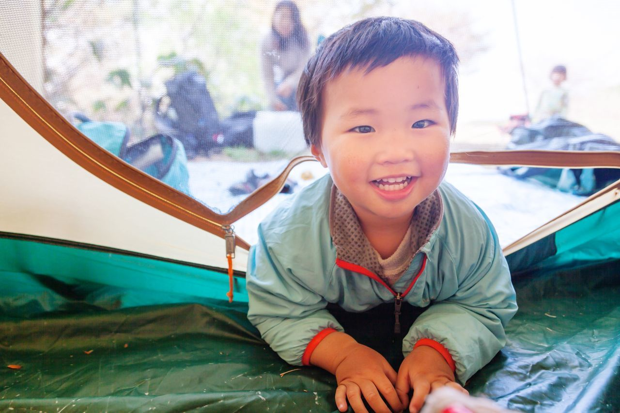 Beautiful stock photos of camping, Asian And Indian Ethnicities, Boys, Camping, Childhood