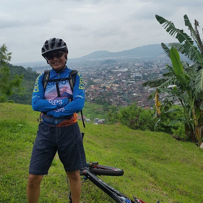hill side of Lampung Sefo