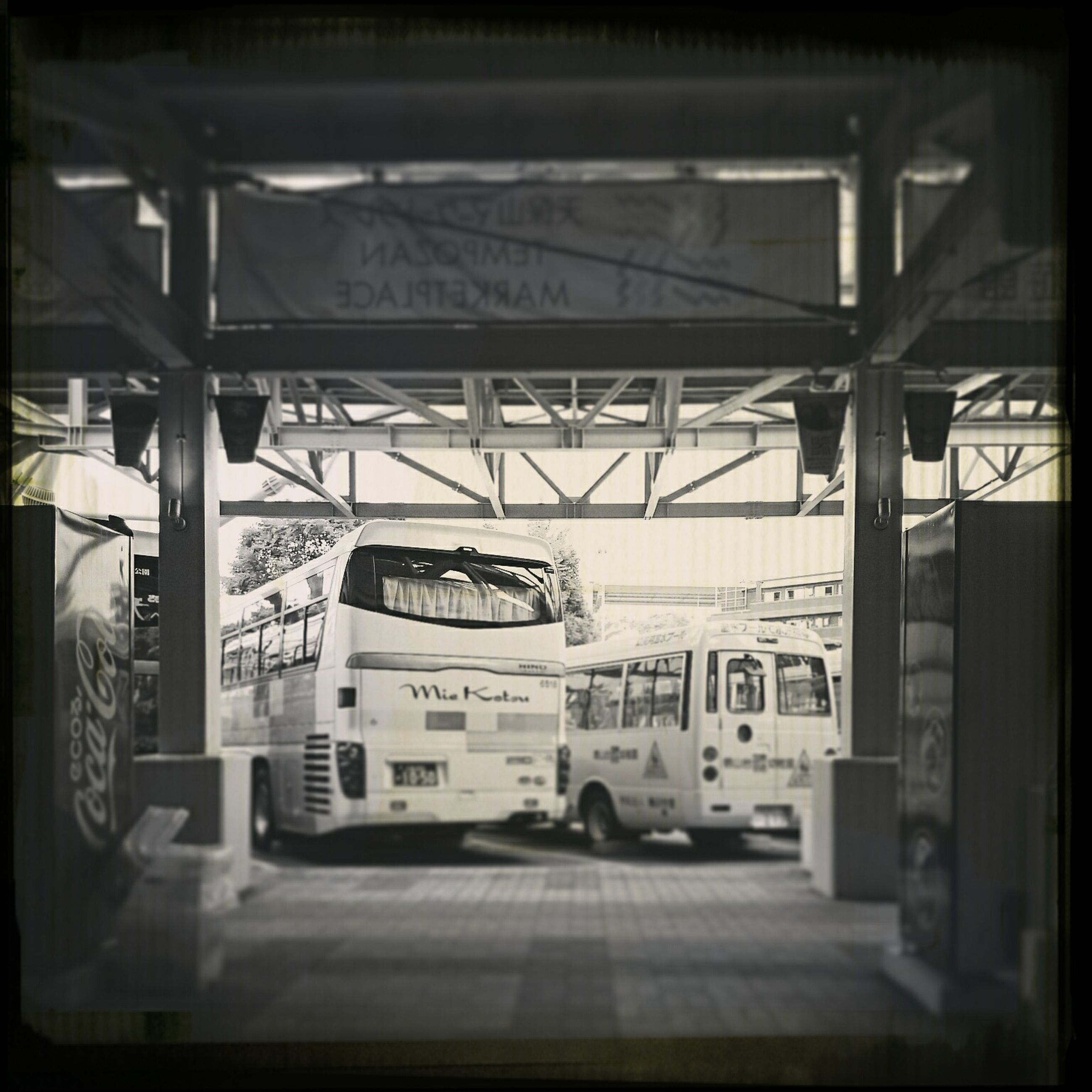 transportation, indoors, mode of transport, architecture, built structure, land vehicle, transfer print, car, auto post production filter, empty, public transportation, travel, absence, day, train - vehicle, railroad station, no people, interior, window, incidental people