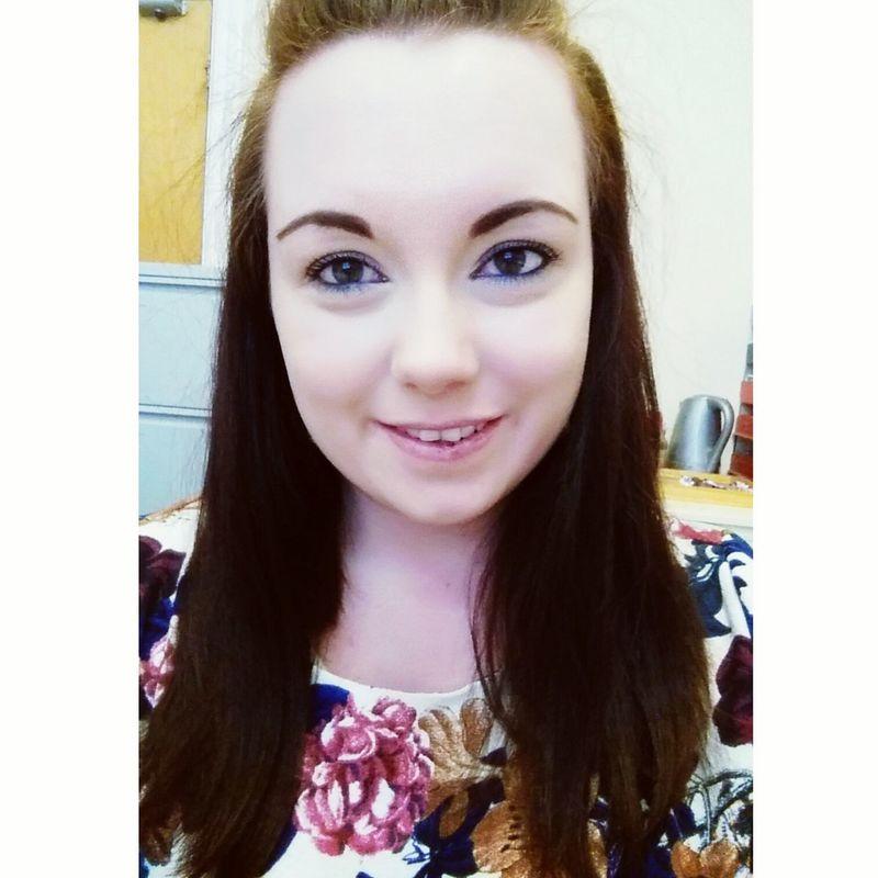 Selfie Smile Flowers Dress Work Scotland Scottish Lass