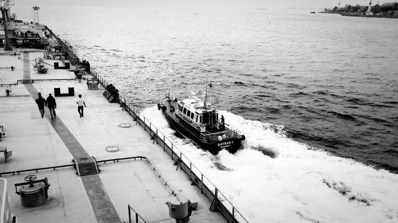 MeinAutomoment Megastructures Oiltanker Pilotboat Merchantmarine Mariners Istanbul Turkey Istanbul - Bosphorus Bosphorus, Istanbul Trip Working Hard Sunset Officerofthewatch