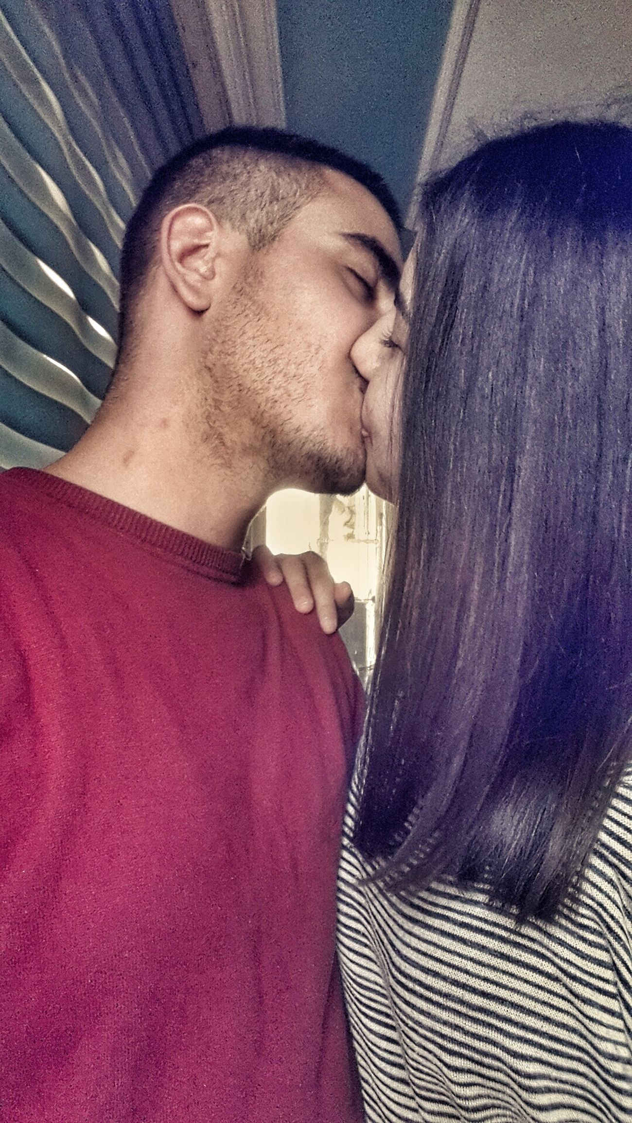 Catch This Kiss Kisses❌⭕❌⭕ My Honey ❤ Couple Two People Truestory