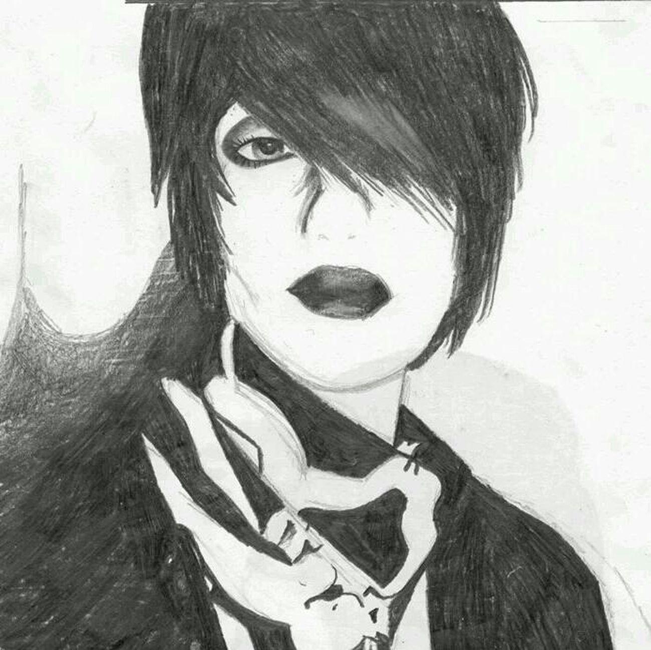 quick sketch . self-portrait ~ Drawing GraphitePencil Art