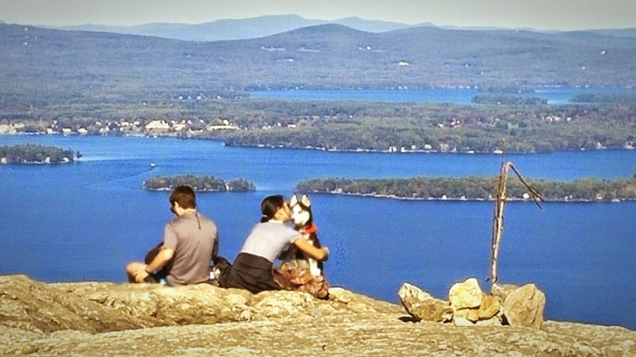 Capture The Moment Puppy Love. Mountain View. Enjoying The Moment