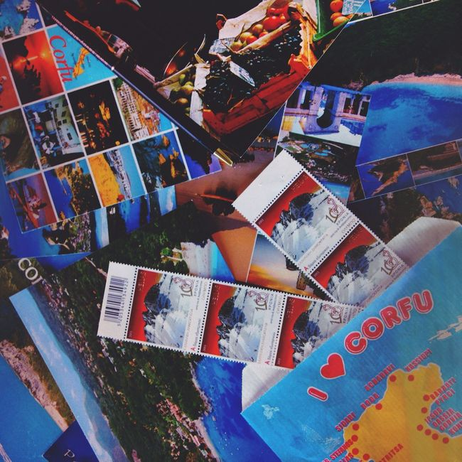 Travel Postcards VSCO Stamp July 2014