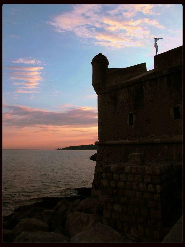 Panorama Blockhouse Castle Sky