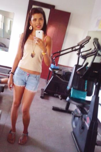 Hittin' GymShit FitnessFreak Today's Hot Look HotChick Sexygirl