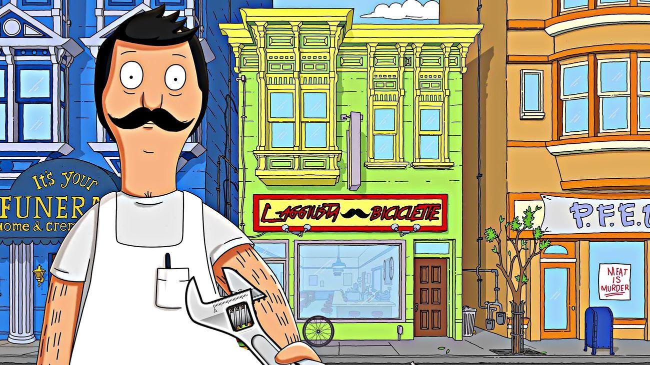 Scoperta la vita segreta di Bob's burger! È L'aggiusta biciclette:) L'aggiusta Biciclette Bob's Burger  Scatto Fisso Messlife Bike Bike Life Bike Ride Fixie Fixed Gear