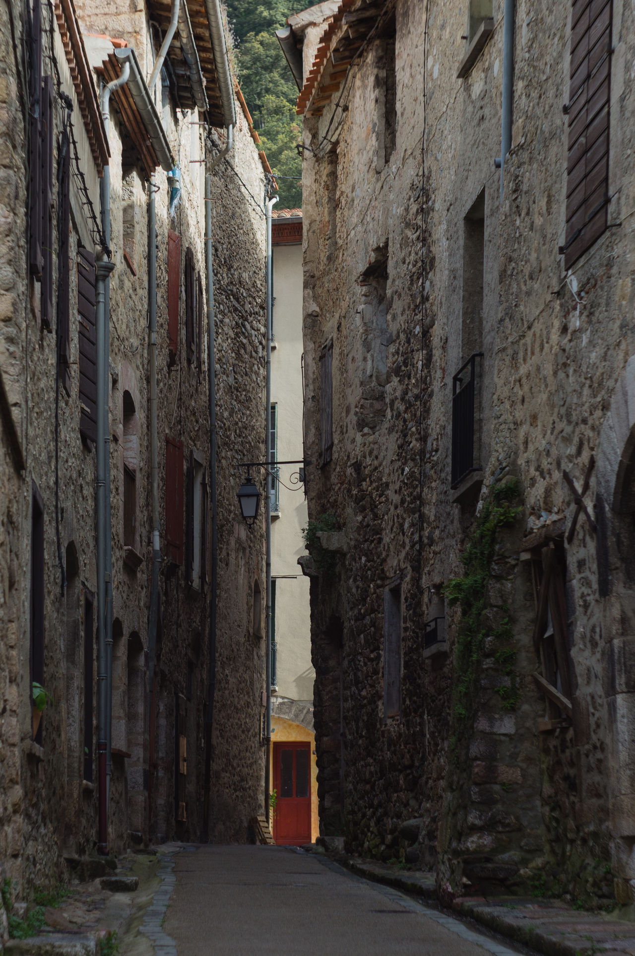 Alley Architecture Building Exterior Built Structure Day Narrow Street No People Old City Outdoors Red Dress