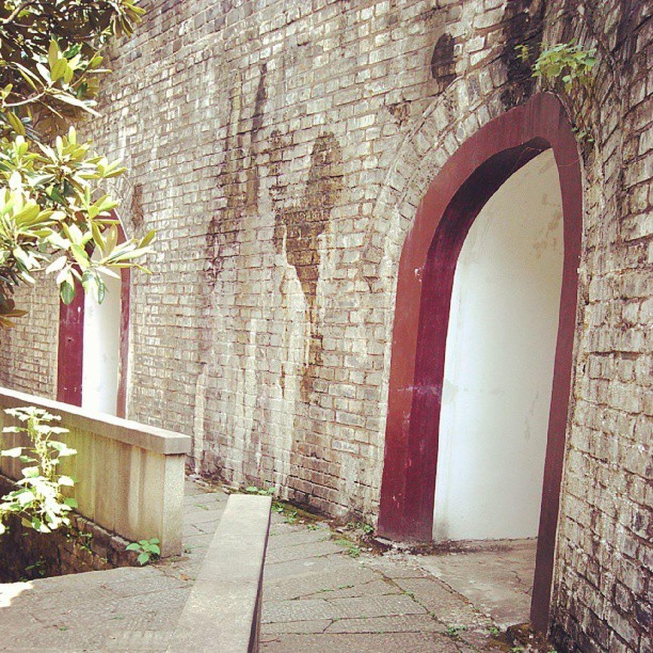 这几个小房间叫月城,形状似半个月亮而得名,古代用来囤放兵勇和炮台的地方 Changsha