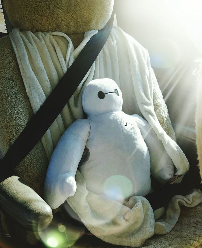 All strapped in Big Hero 6 Disney Big Kid My Valentine Day Gift (: The Little Things