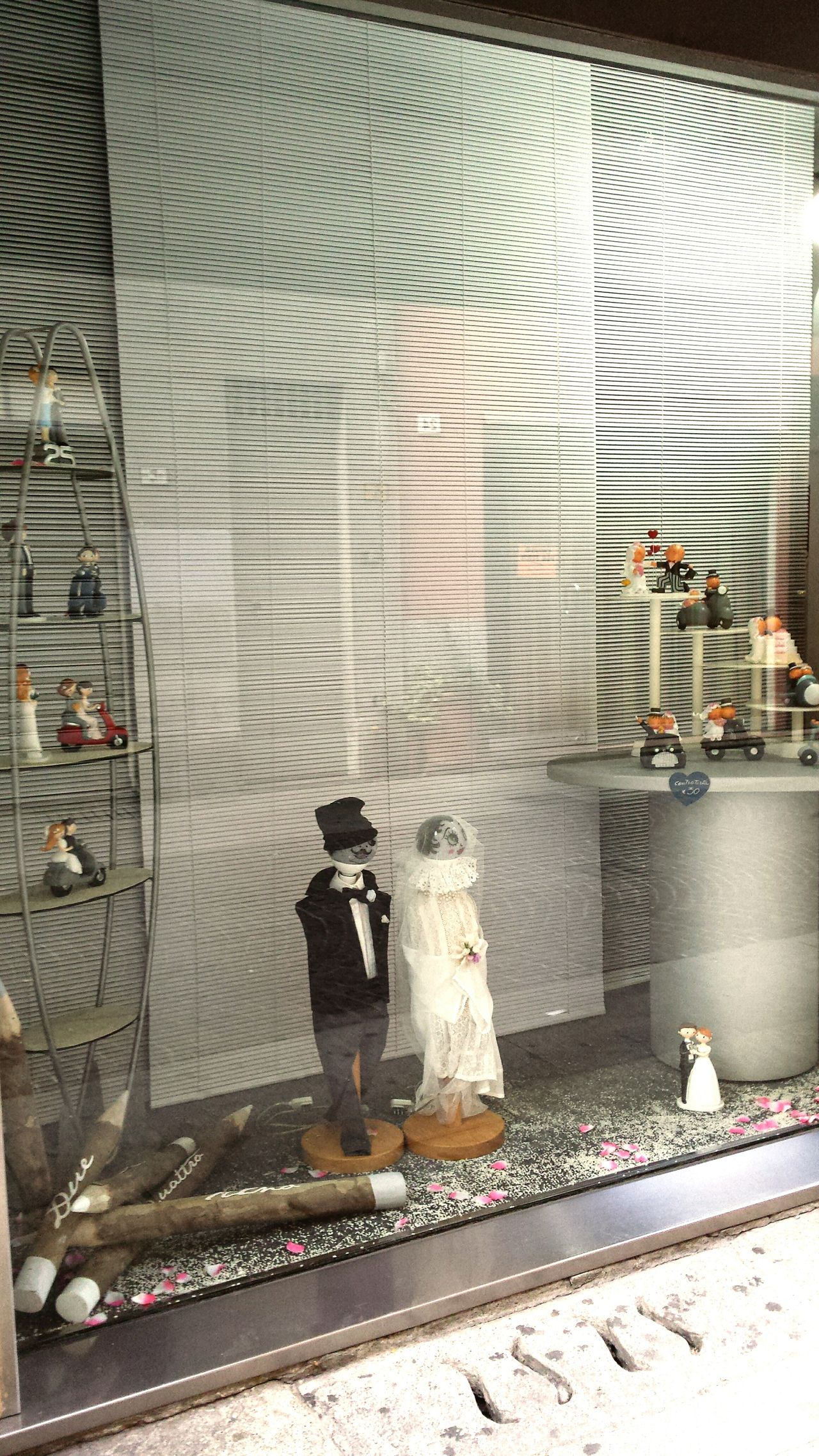 Sposi Matrimonio Giocattoli Divertimento Vetrina Vetrine Toys Giocattolo