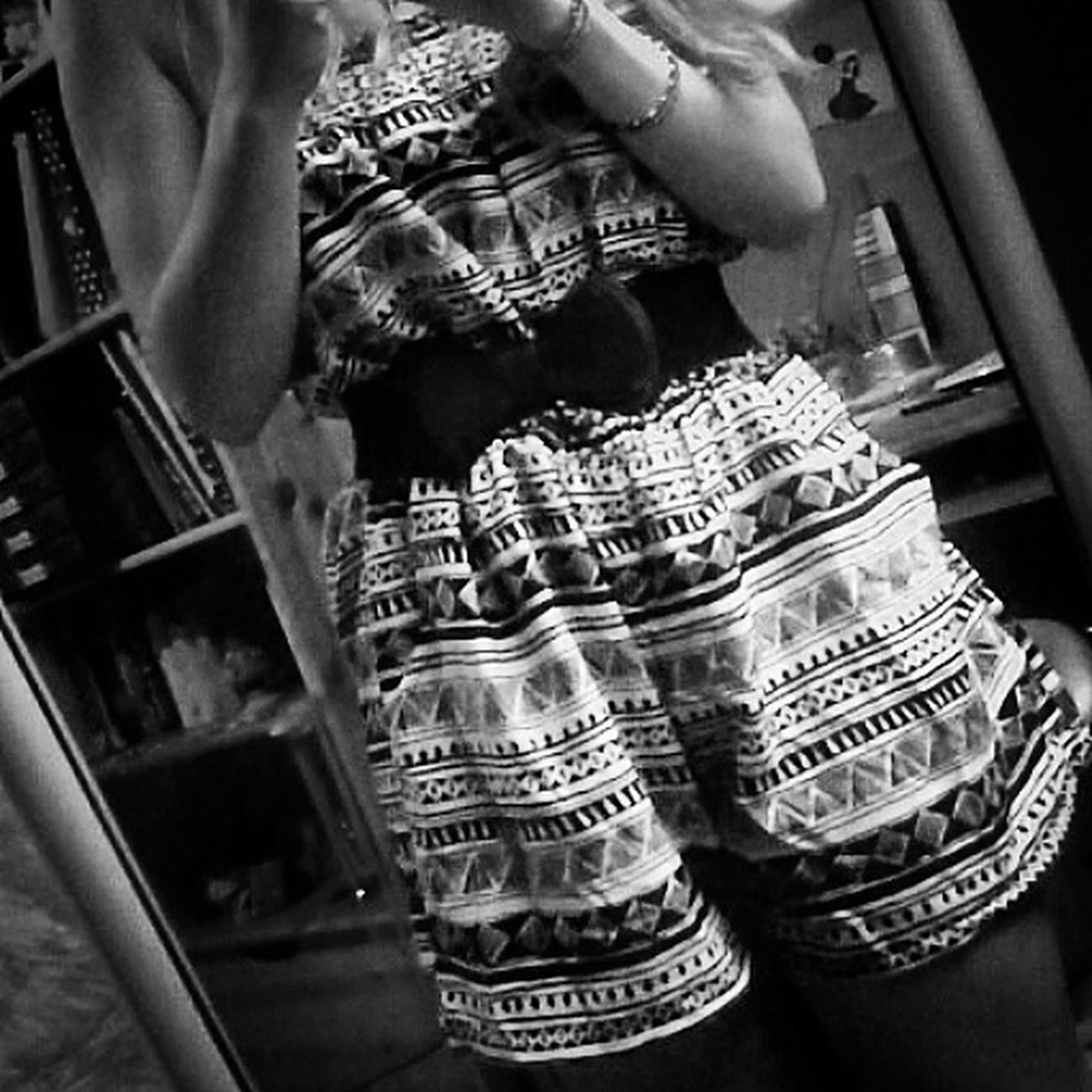 Tenue Du Jour Black&white Me Combishort