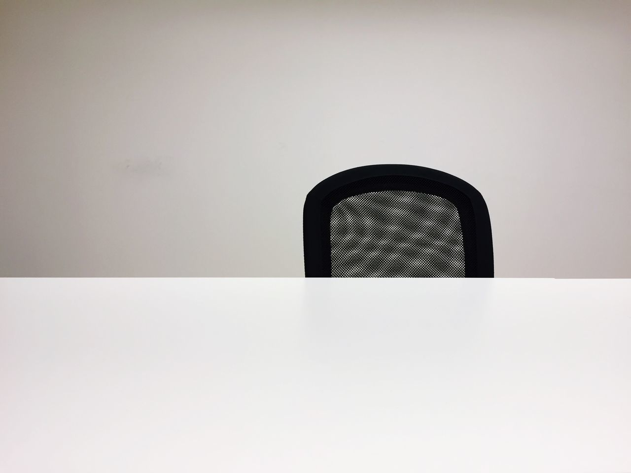 Office Table Chair White Clean Chef Business Empty No Laptop