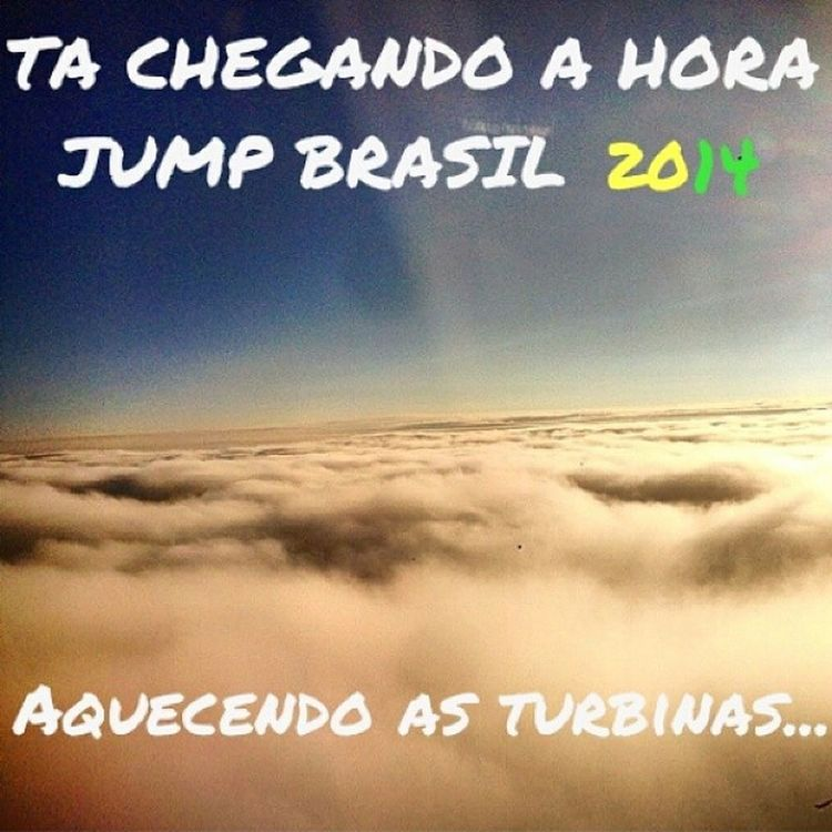Malas prontas??! JumpCe JumpBrasil Poder PowerofGod Sharamanaias @prdouglassoares @wesleysousa12 @pricardo12 @paulanagila @priibrenda @victor_samuel7