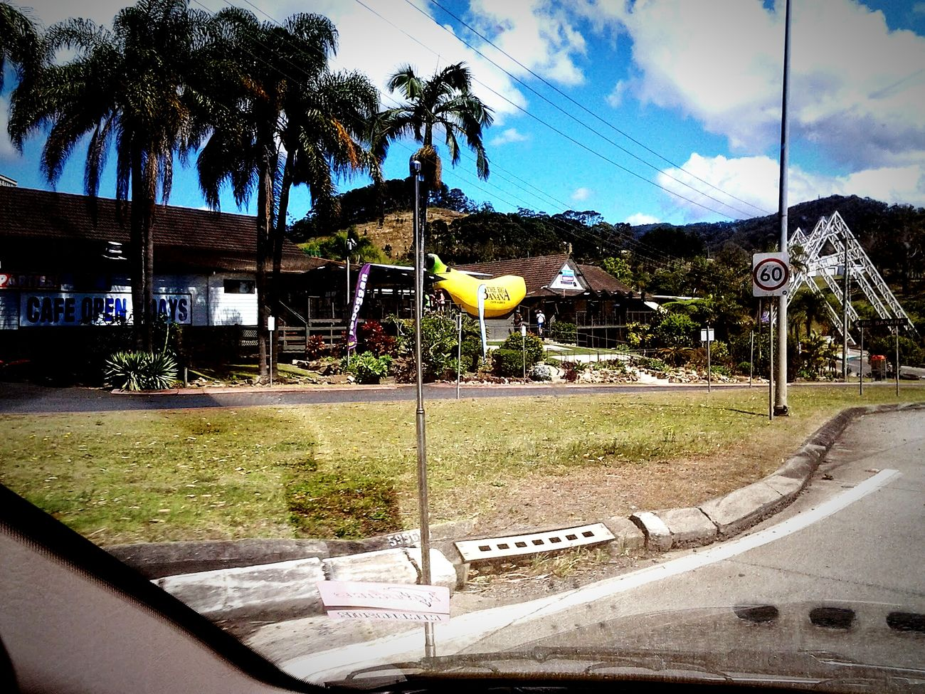 The Journey Is The Destination Travelling Coffsharbour Big Banana Great Picture Traveling Through Town Beautiful Scenery ❤❤❤