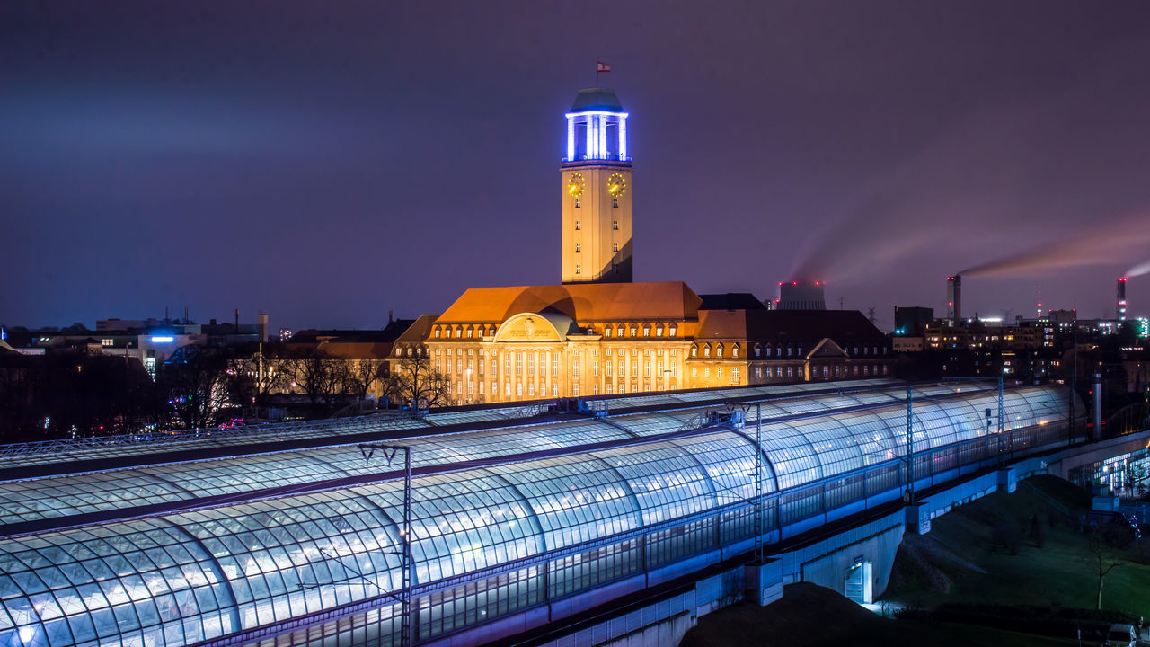architecture, night, illuminated, building exterior, built structure, sky, travel destinations, history, outdoors, lighthouse, city, no people, nature