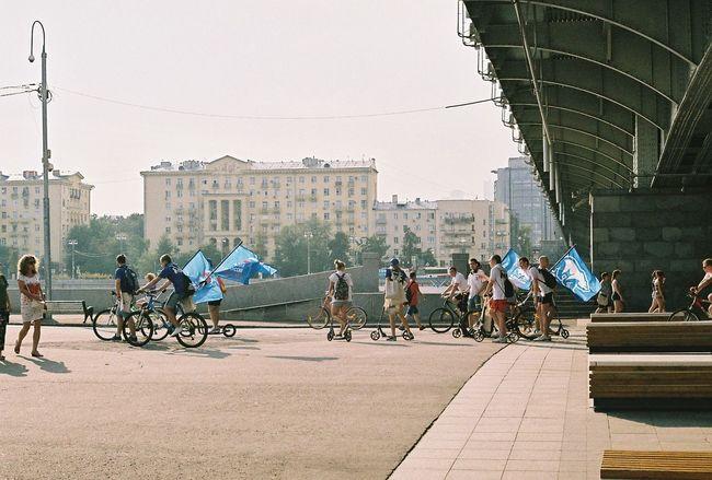 Election is legit Bicycle Elections Moscow Politics Putin Russia Summer единаяРоссия Москва путин