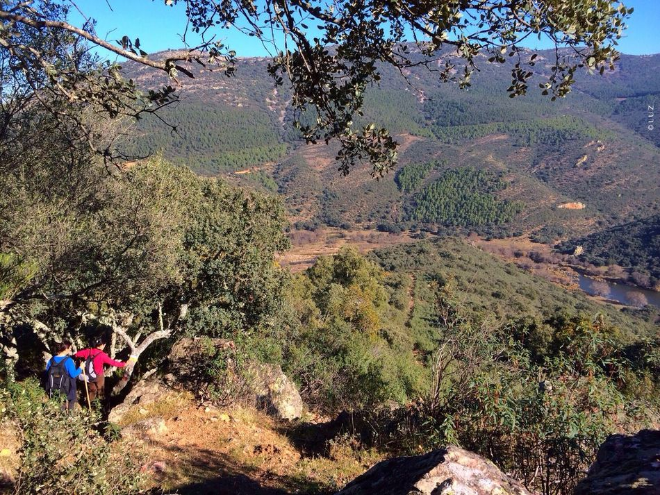 Desde las alturas. Landscape Guadiana IPhoneography SPAIN