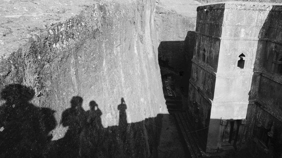 Lalibela, Ethiopia Architecture Building Exterior Day Exploration Heritage Outdoors Religion Religiosity Shadows Stone Whiteandblack
