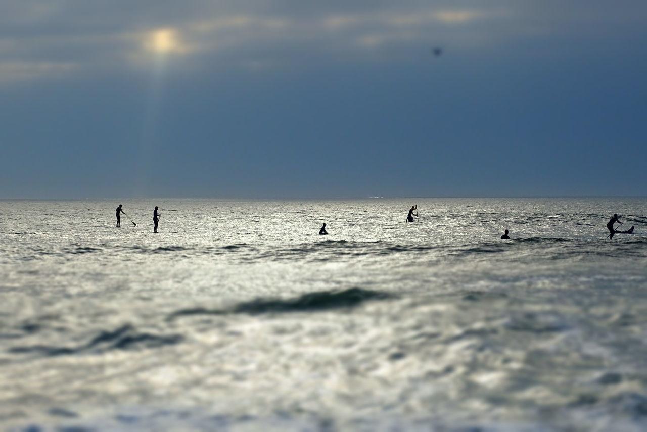 Surf, Soleil, Sun, Grey