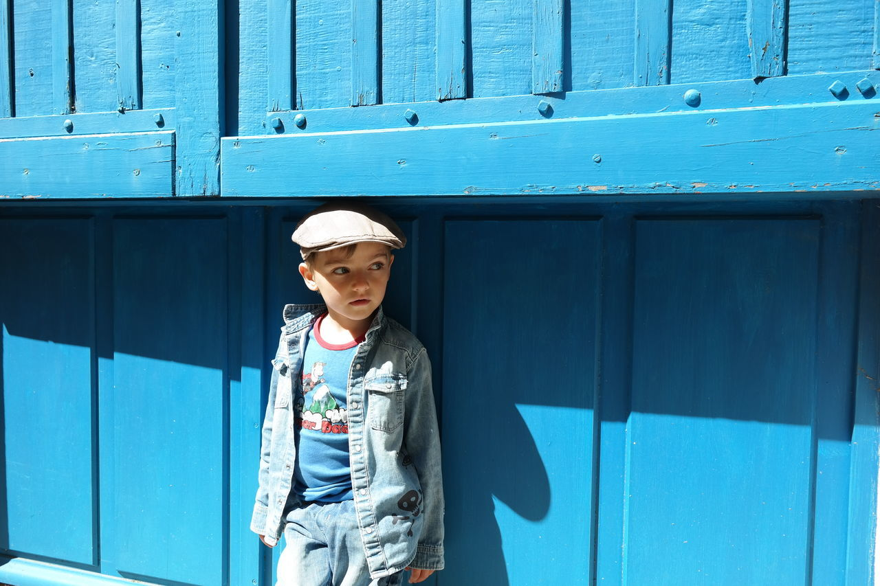 Beautiful stock photos of hat, Blue, Boys, Caucasian, Childhood