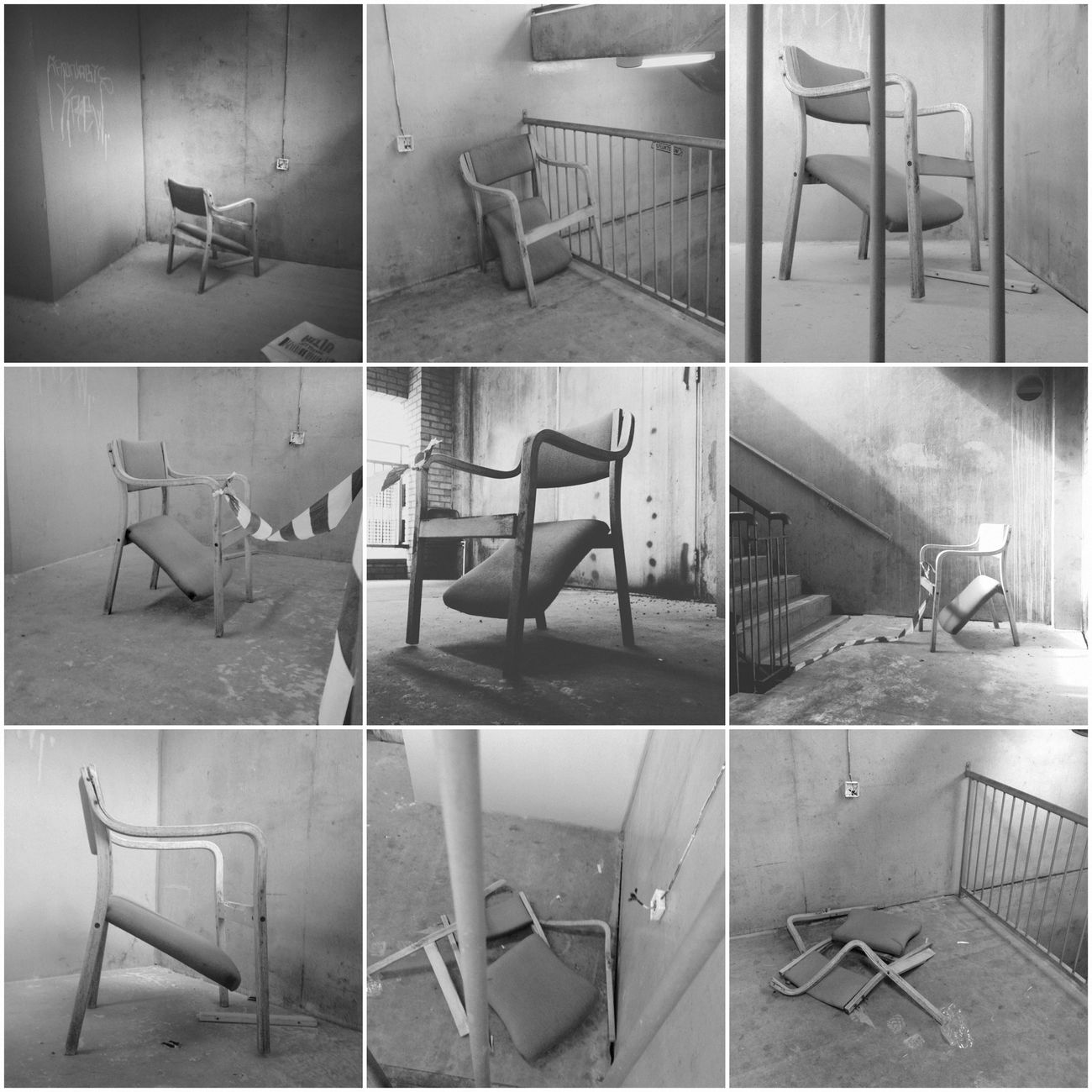 Life & Death of a Chair NEM Derelict Mob Fiction we are We Are Juxt