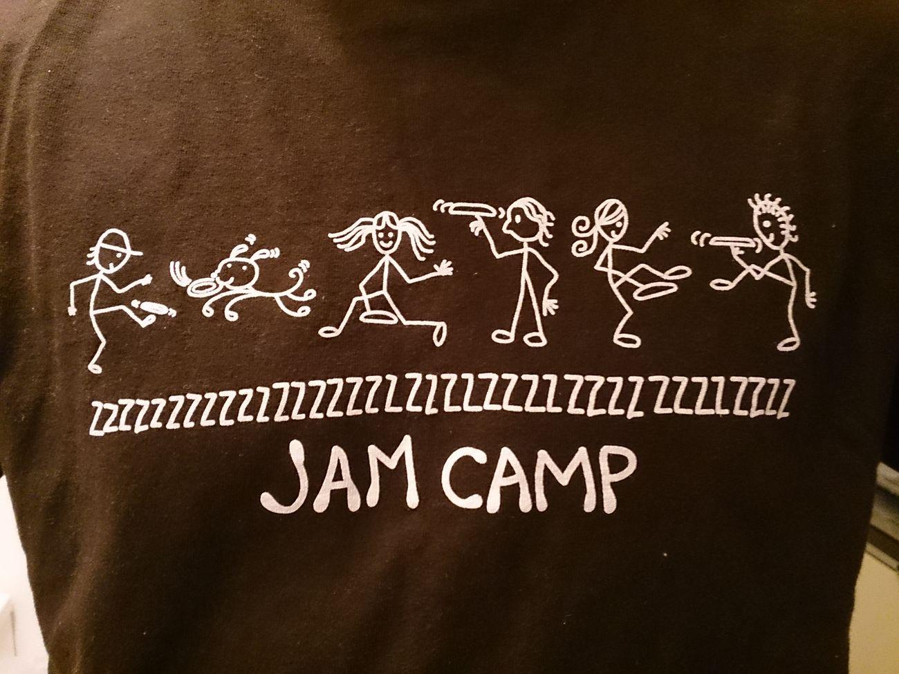 めっちゃいいTシャツもらった JAMCAMP Hayfee