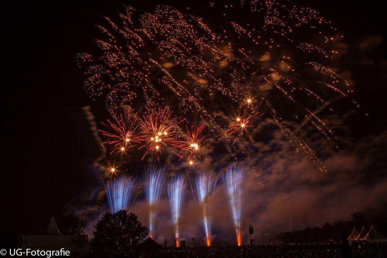 Flammende Sterne 2015 Feuerwerk Ostfildern Fireworks Flammende Sterne