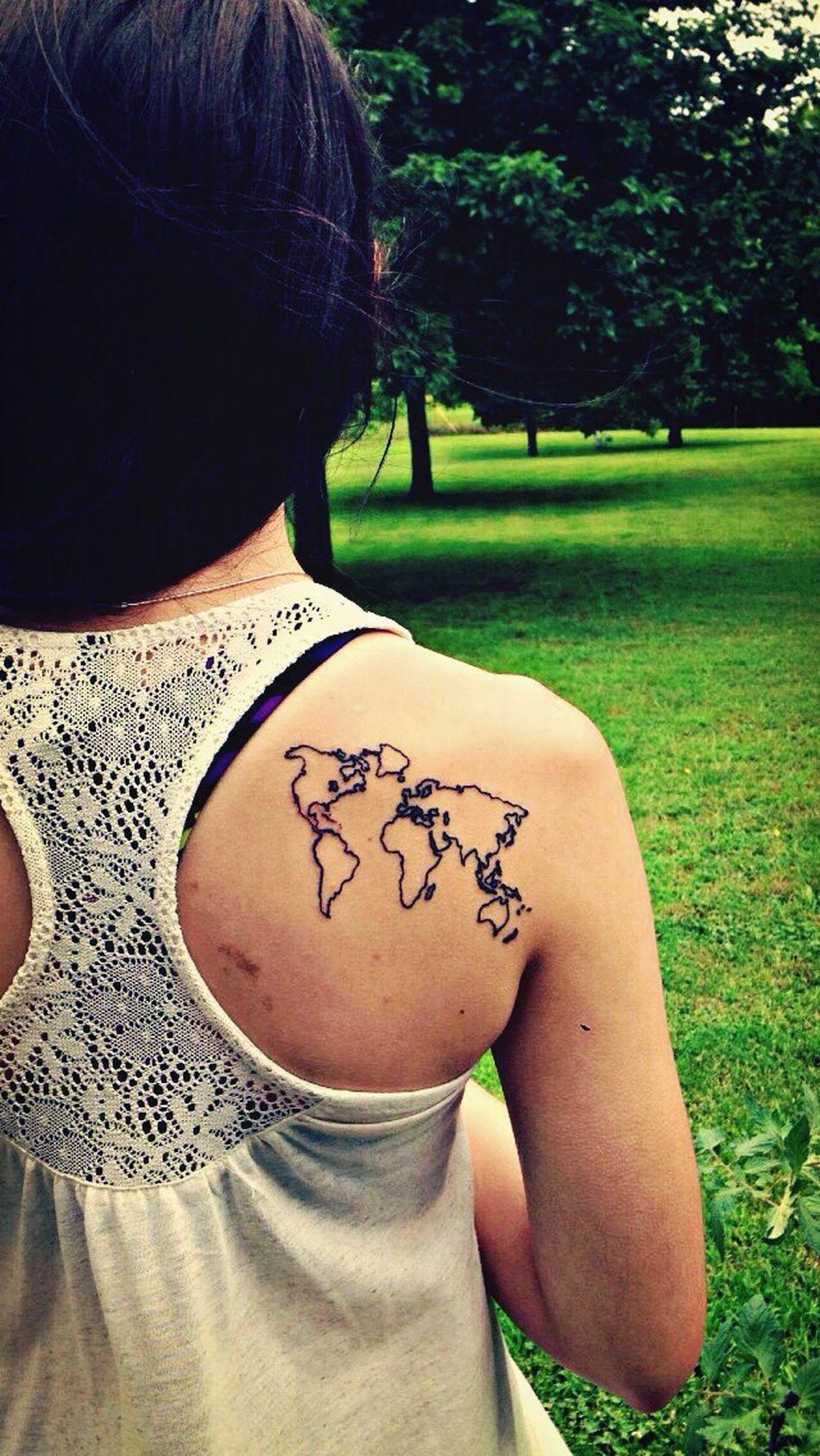 Tattoo Hello World Enjoying Life