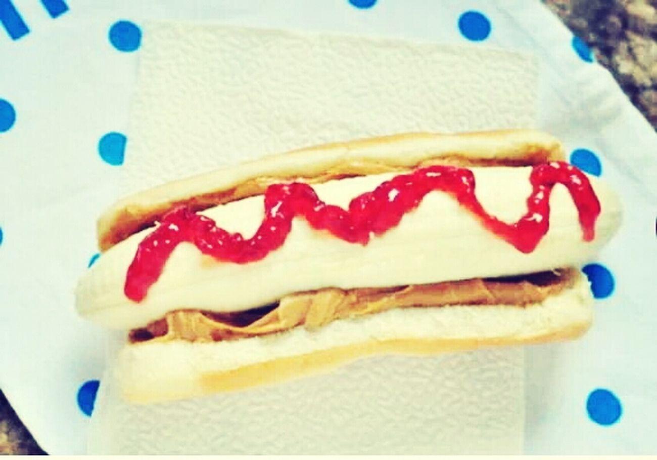 banana hotdog!!! Foodphotography Food Foodstagram Khmerfood