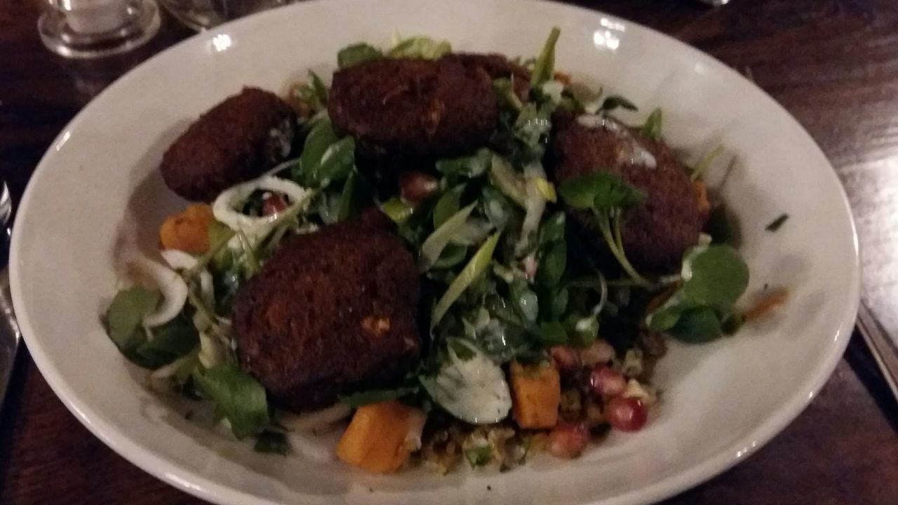 Vegetarian Food Falafel Sweet Potatoes LONDON❤ United Kingdom London Lifestyle My Year My View