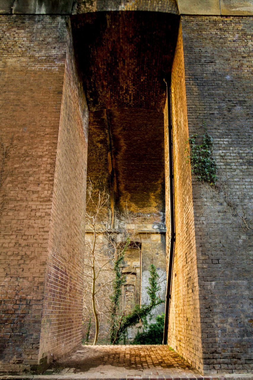 architecture, built structure, brick wall, day, no people, doorway, outdoors, building exterior