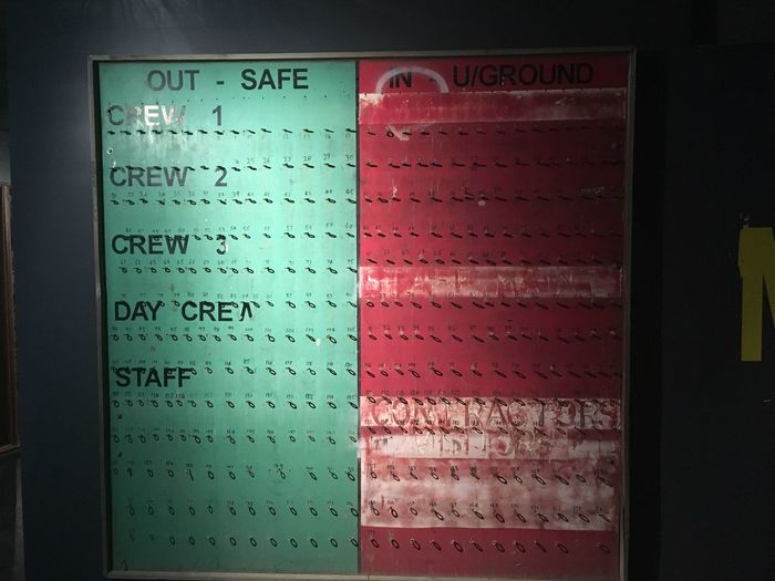 Close-up Communication Day In Out Indoors  Multi Colored No People Shift Staff Text
