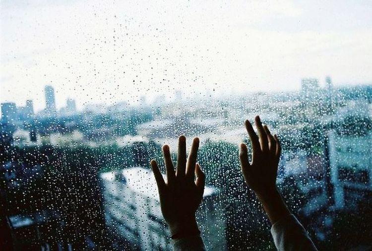 Дождь синий грусть