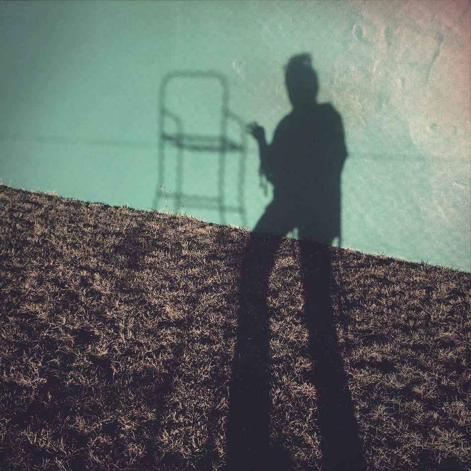 Me and my errant shadow The Illuminator - 2014 EyeEm Awards AMPt_community Fltrlive Hipstamatic
