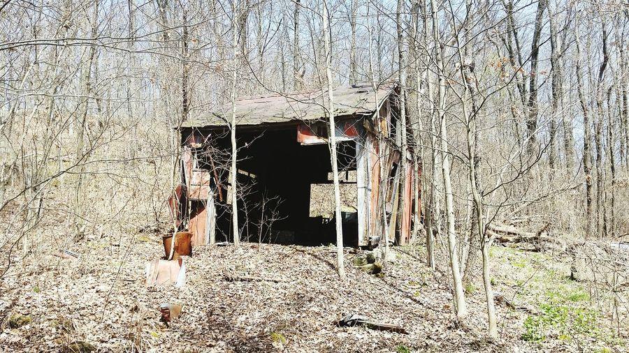 The Holler Oilfield Old Building  Oil Powerhouse