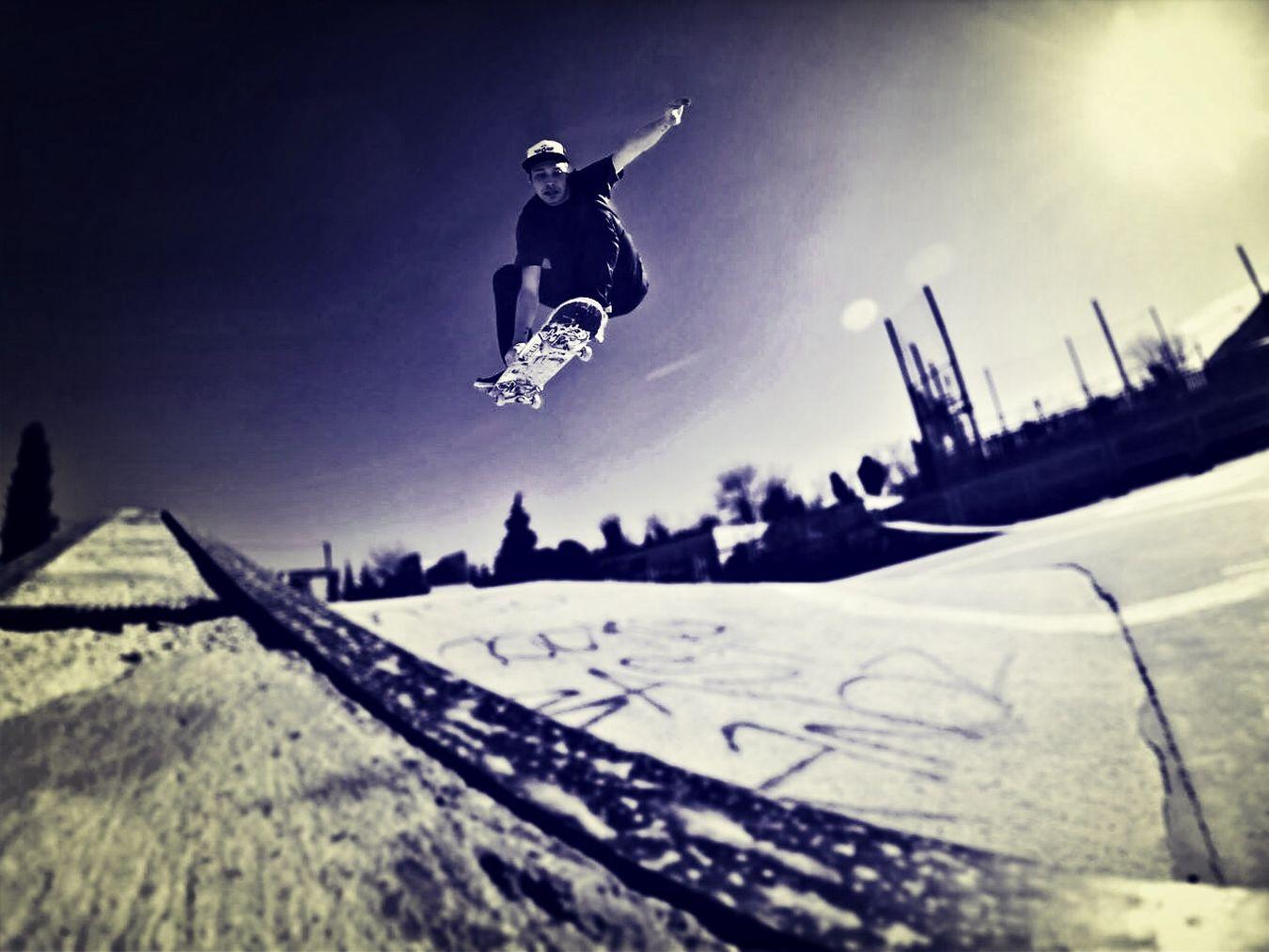 Extreme Skateboarding Enjoying Life That's Me