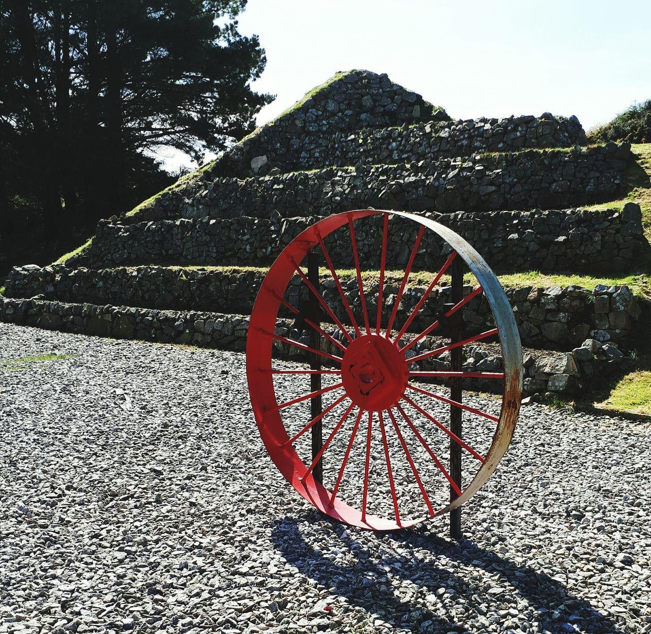 Metal Wheel Red Outdoor Activities