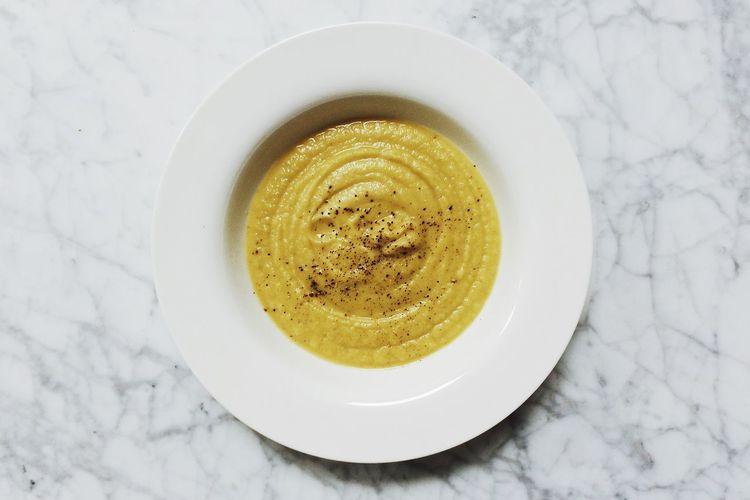 Soup Roasted Acorn Squash Vegetables