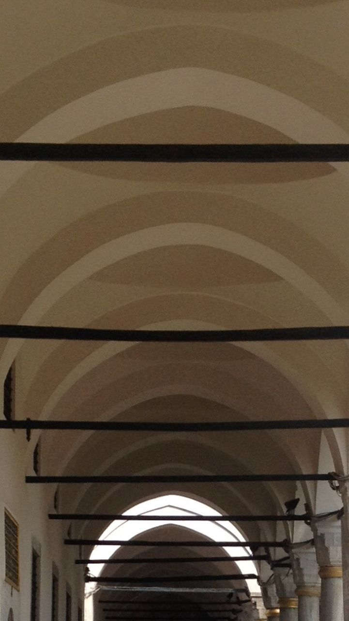 ceiling, indoors, built structure, architecture, arch, low angle view, no people, architectural design, day, close-up