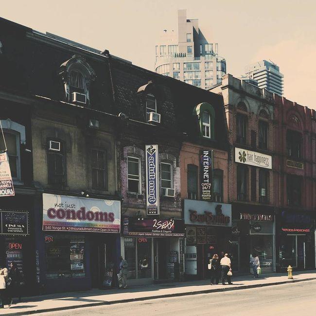 Yonge Street Classic My Two Yongest Nephews(left:jayce Right:james) Street Photography Streetphotography Toronto Urban Vintage Yonge Yongestreet