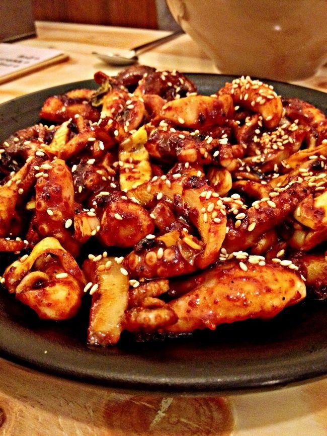맛있는 매운맛. 쭈꾸미 Food Korea Seoul
