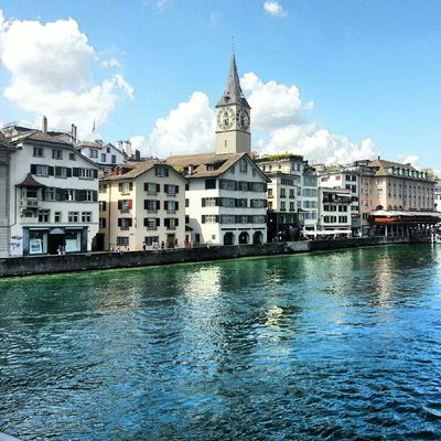 City at Zurich by Tal