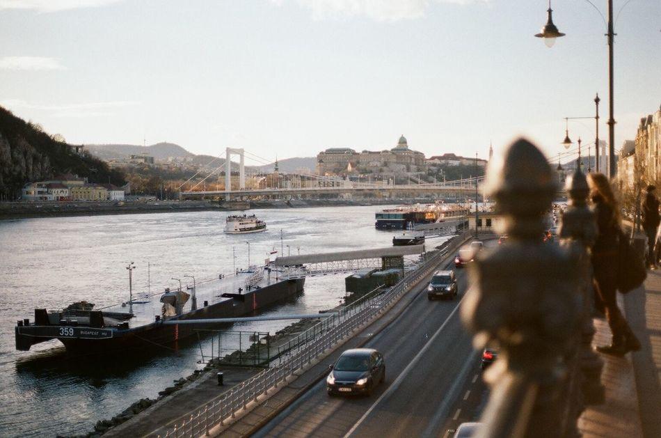 Beautiful stock photos of budapest, Bridge - Man Made Structure, Budapest, Car, Cargo Container