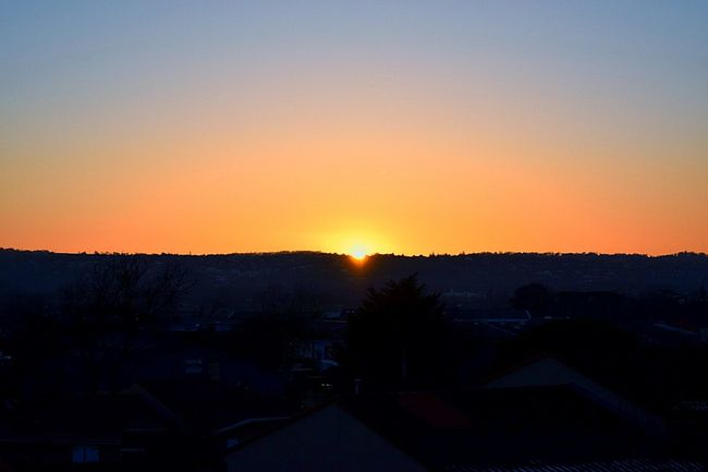 Beautiful Winter Sunset / Sunlight Sky Sky Collection Sunset_collection