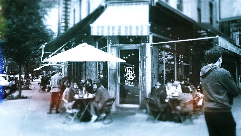 Neighborhood's beloved cafe. Delicious Cafe Lunch Newyork Brooklyn